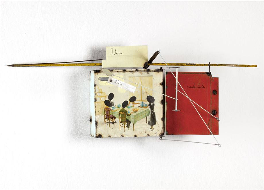 bocchini, francesco bocchini, mixed media, contemporary art, alessandro casciaro art gallery