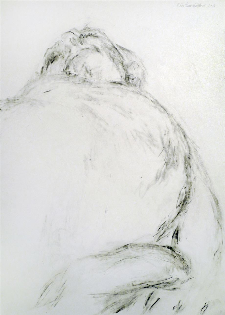 anvidalfarei, lois anvidalfarei, drawing, contemporary art, alessandro casciaro art gallery