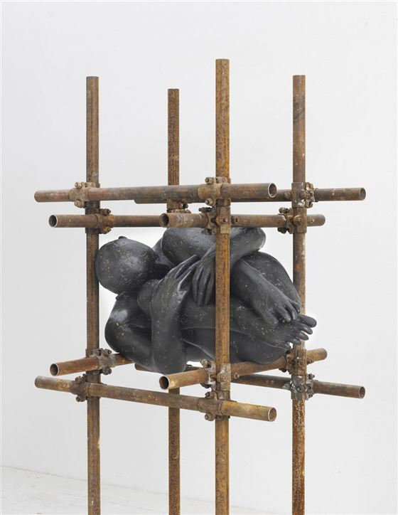 anvidalfarei, lois anvidalfarei, sculpture, contemporary art, alessandro casciaro art gallery