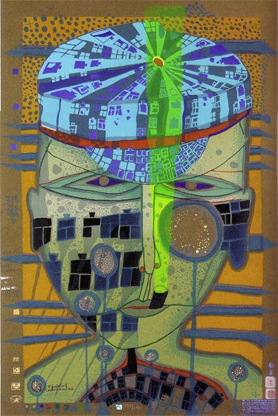 Alessandro Casciaro Art Gallery Details Kunstler F Hundertwasser